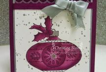 Christmas Bauble / Christmas Bauble by Stampin' Up!