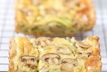 Quiches, tartes salées