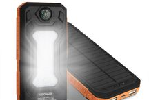 Portable Solar Power Bank with compass Outdoors Emergency ,free shipping