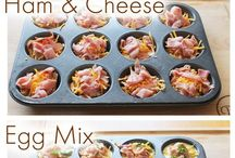 On the go foods and muffin tray recipes