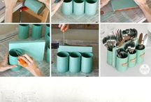 Kitchen storage / Recycling tins