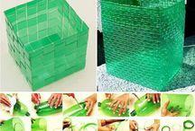 pletenie z plastových fliaš