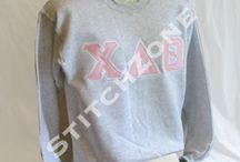 Chi Delta Theta / Sweatshirts, Hoodies, Jackets, Shirts, Sashes, Stoles, Accessories