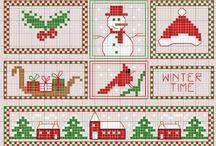 Christmas X-stitch