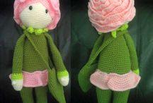 Rose Puppe häkeln