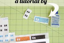 08 Этикетки Business cards / Этикетки, бирки, лейблы, лого. Визитки