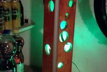 wood led