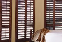 Wood Plantation Shutters / If aesthetic beauty and lasting impressions are of the upmost importance to you, the Budget Blinds collection of wood shutters offers the ideal solution. These elegant window coverings are made of the highest grade North American hardwoods, harvested from certified forests to help conserve the environment. Our wood shutters are available in a variety of paint and stain finishes that preserve the natural allure of the wood grain. We also have #composite shutters. / by Budget Blinds - Official