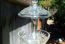 Garden Art / Glass / by Connie Brant