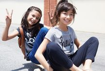Tee Shop / We love a good t-shirt. That's why we've created the Tee Shop. The fit: a little unstructured, a lot comfy. The fabric: our softest cotton ever. Share your favorite tee looks with #NotSoBasic #FabKids