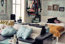turquoise livingroom