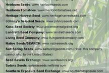 Gardening - Seeds