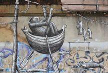 World of Urban Art : PHLEGM  [UK]