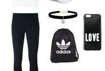 Adidas et Nike vêtements