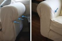 No Sew Slipcover's