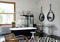 Black and White Living / by Kate Hoffmann