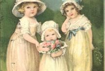 Vittorian childrens cards