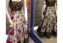 Floral Print suits and lehenga cholis