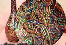очечная роспись контурами мандалы: 15 тыс изображ…