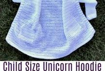 unicorn crochet jacket
