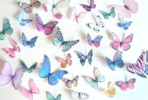 Happy and Colorful Butterflies!