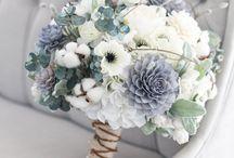 Blomma/bröllopsbukett