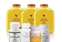 Men's healthy lifestyle with forever living products.
