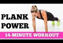 Plank trenink