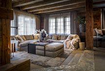 KABAZ - Chalet Suisse Verbier / Verbouwproject ontworpen door de architecten en stylisten van KABAZ.