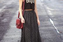 Street Style / Street style - what all the cool it girls are wearing to NYFW or just in life.