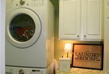 laundry room reDO / by Amy Martin