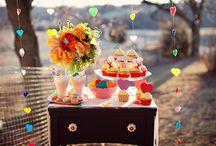 Los colores en las bodas / Amamos los colores en las bodas... por esto acá un poco de lo que nos gusta hacer.