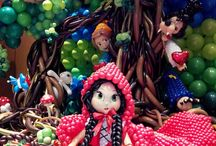 little red riding hood / Party, balloon