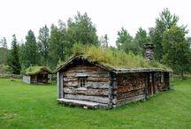 Gamle Hus Og Hytter