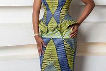 Flo Lydia / African attire