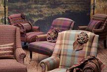 Wool upholstery
