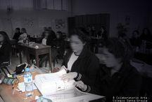 Charla Colegio Santa Ursula - Colaboratorio Arte / Los días 09 y 13 de septiembre 2013 se presentaron los proyectos Colaboratorio Arte/Arte in Movimento y Adriana Cordero Atelier a las alumnas del Colegio Santa Ursula de Lima - Perú.