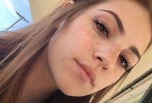 Eyes, eyebrows and eyelash
