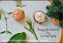 Advent / Developmentally Appropriate Activities to help preschoolers understand the concept of the Advent season.