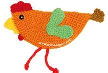 gallina crochet