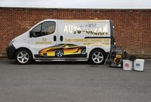 Auto-Gleam Valeting Мan / Our professional equipment and Van