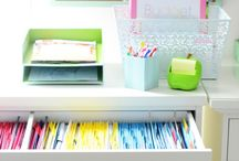 organization & cleaning.