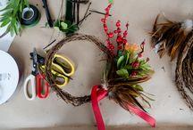 Christmas Native Wreath Workshop 2017 / Our event captured by Jasmine Ann Gardiner Photography