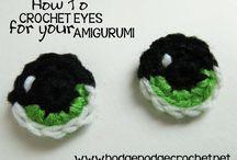 crochet amigurumi eyes