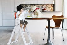Baby-to-Booster High Chair / Our Baby-to-Booster Bentwood High Chair is the perfect piece of furniture for a growing tot.  / by Svan