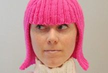 Knitted Wigs and Wraps