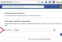 How to Change Your Facebook Brand Page Name/Username (vanity URL)