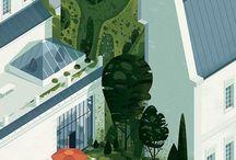 Architectural Illustration Inspo