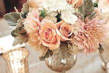Свадебные композиции на стол