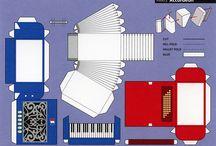instrumentos musicais - minis